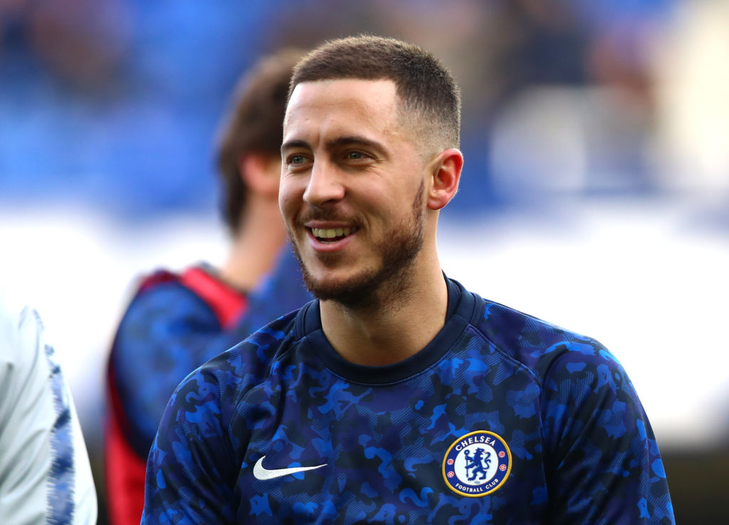 Eden Hazard drops transfer hint and picks out his favourite for Champions League