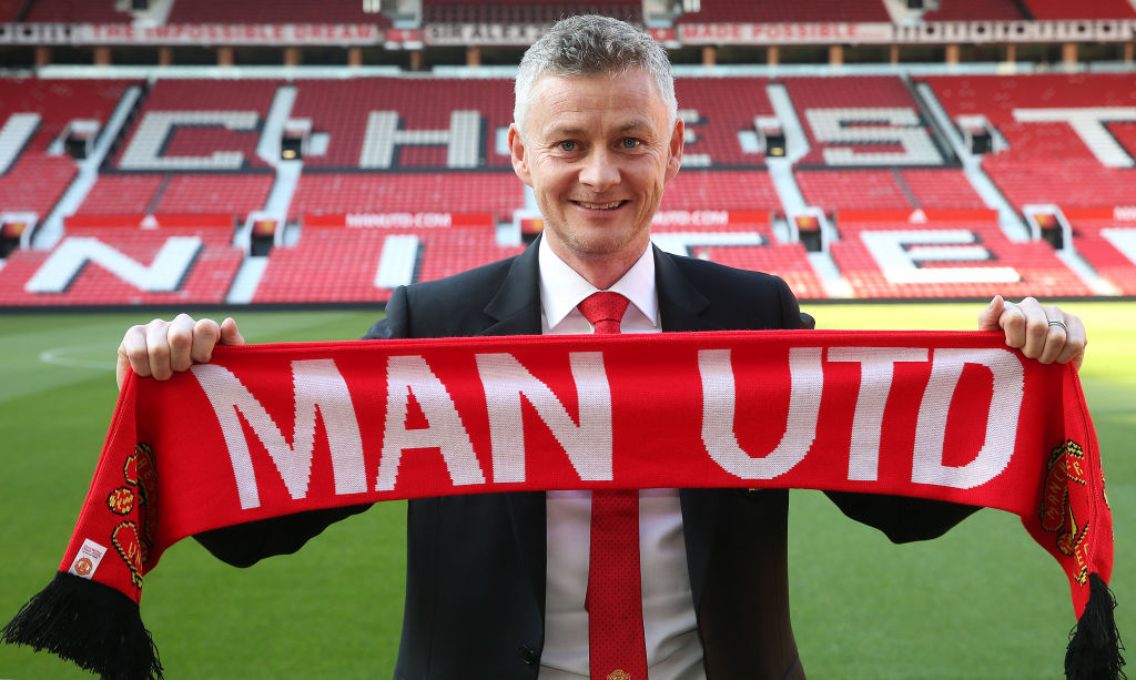 Ole Gunnar Solskjaer has signed a three-year contract with Manchester United