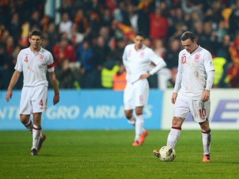 England's record against Montenegro is not very impressive at all