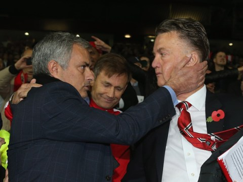 Jose Mourinho 'never gives youngsters a chance', claims Louis van Gaal