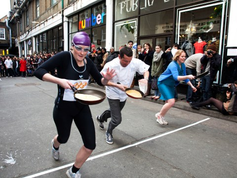 Pancake Day races in London – where they're happening and what times