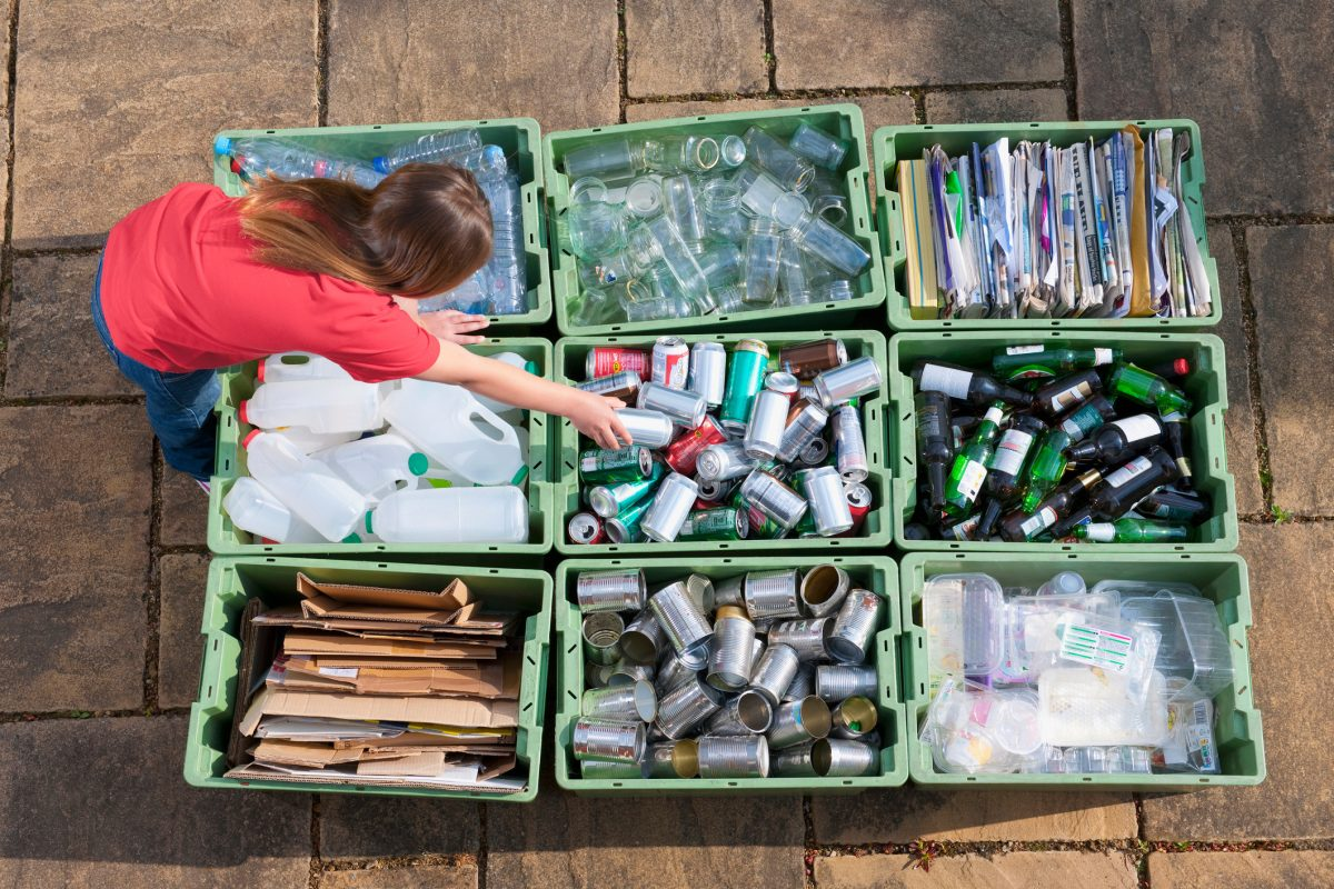Children are shaming their own parents for not recycling properly