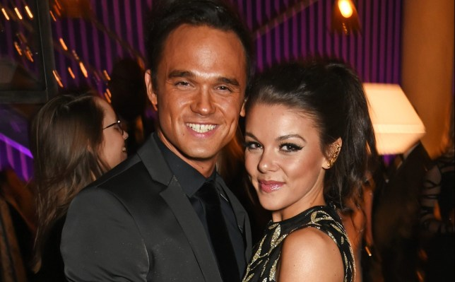 Gareth Gates and Faye Brookes got back together after a short split
