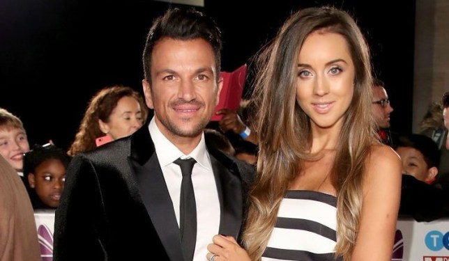 Peter Andre and Emily