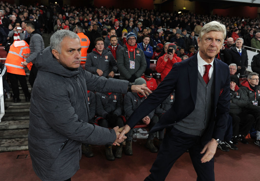 Jose Mourinho pays heartfelt tribute to 'last of his kind' Arsene Wenger