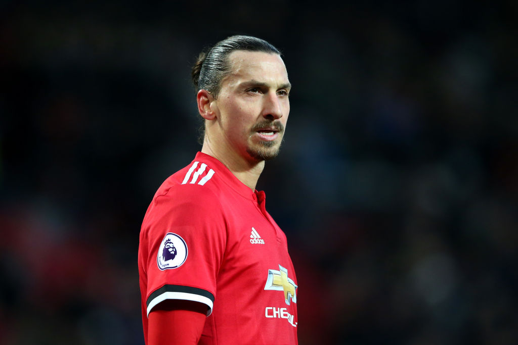 Zlatan Ibrahimovic takes swipe at Man Utd legends Gary Neville and Paul Scholes