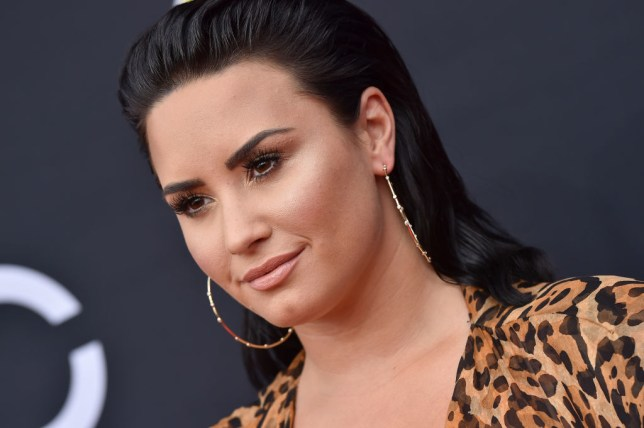 Lovato has been causing a splash before she even hits the screen. (Picture: FilmMagic)