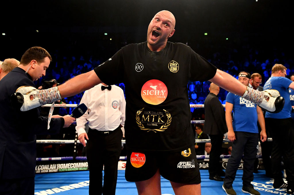 Bob Arum hopeful Anthony Joshua and Deontay Wilder can build profiles before Tyson Fury fight