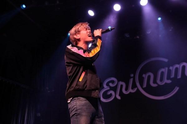 Eric Nam performing