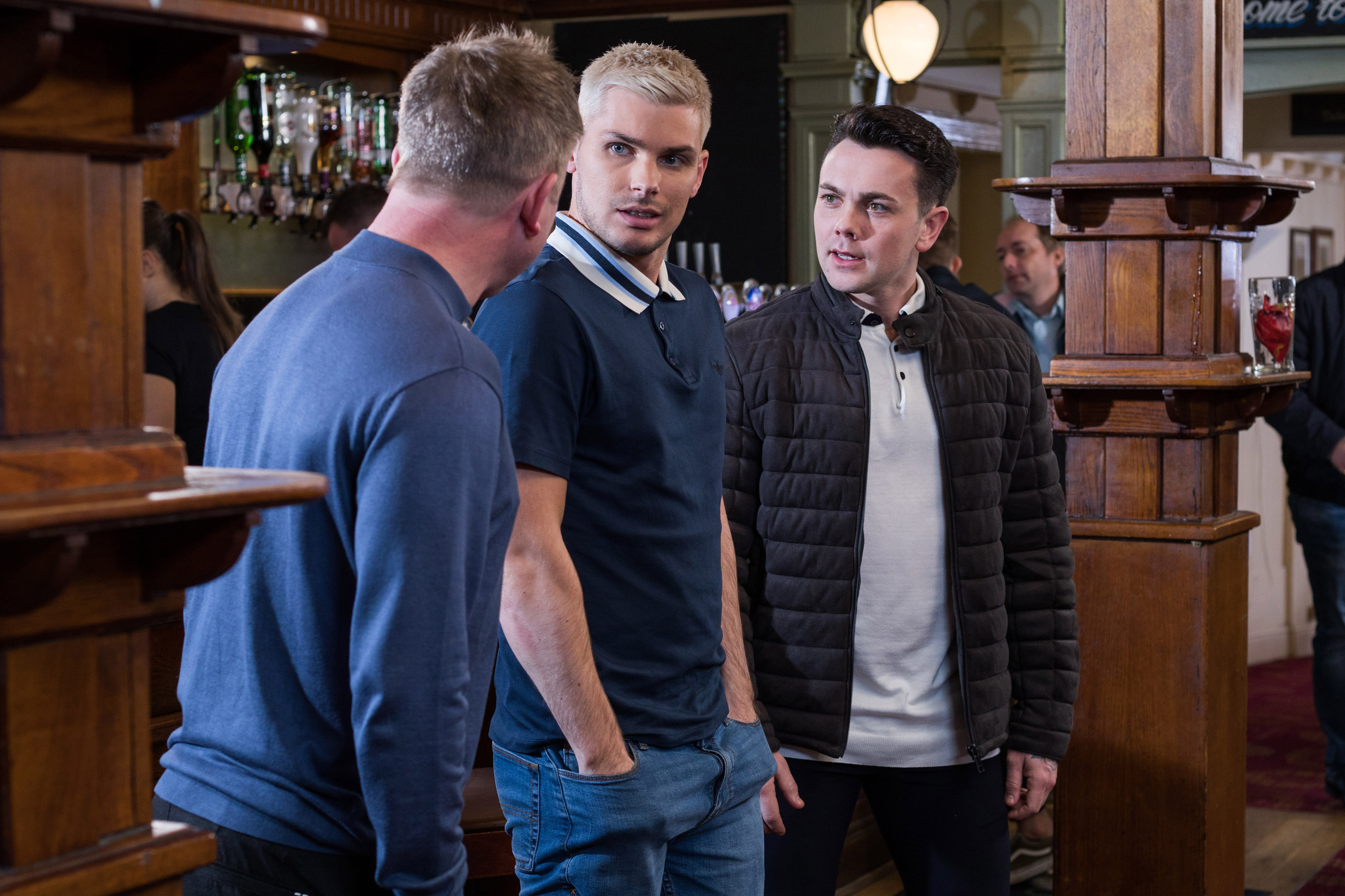 Hollyoaks spoilers: Will Ste attack Maaliks with his far-right mates?