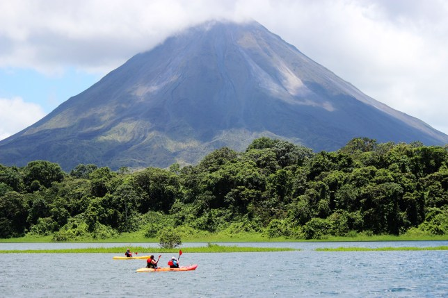 Kayaking is just one of the many activities to keep you entertained in Costa Rica