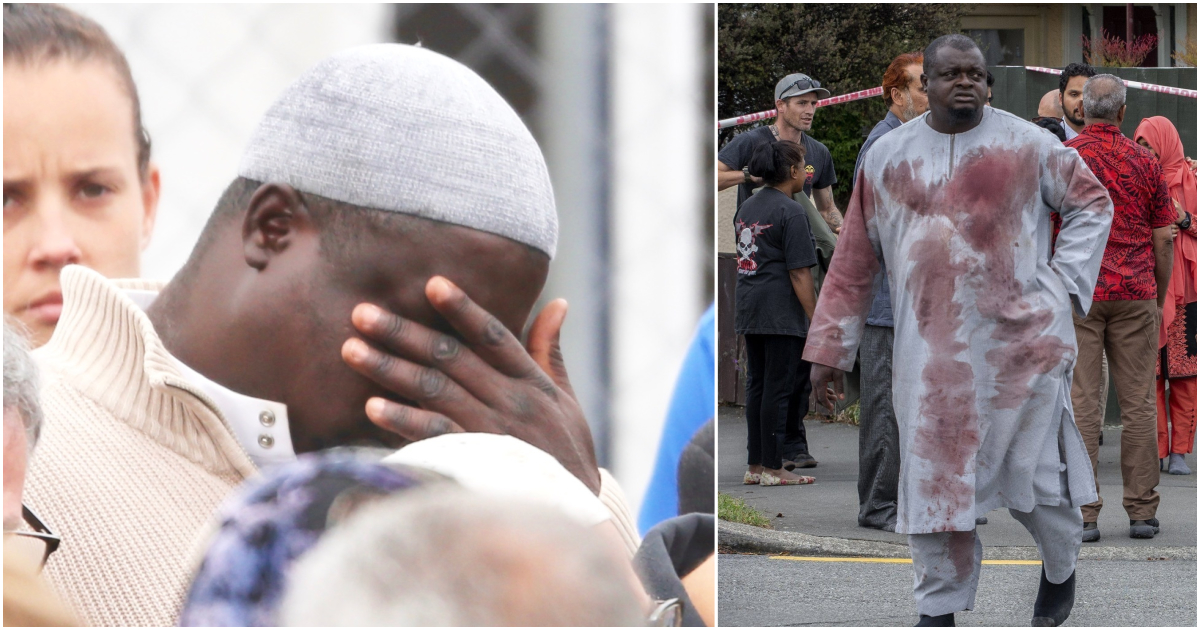 Tears of hero Imam who saved lives of countless people in New Zealand attack