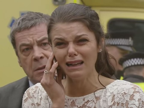 Why did Coronation Street's Faye Brookes quit the show after seeming to confirm her happy future there?