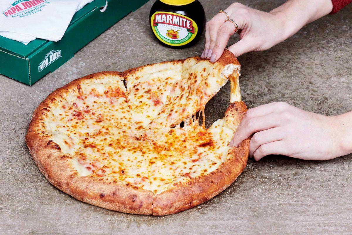 Papa John's is launching a Marmite stuffed crust pizza