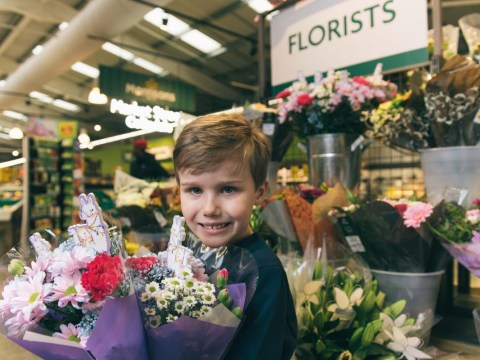 Morrisons launches pocket money Mother's Day bouquets for kids