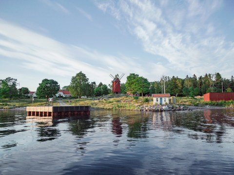 Sweden is winning the environmental game again, with a 'minimal emissions' holiday island