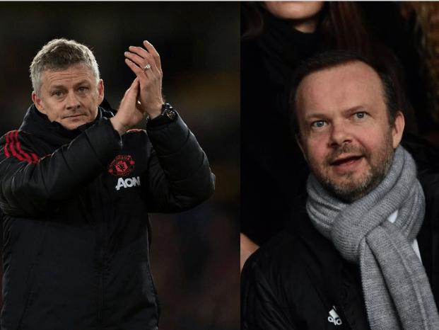 Ed Woodward told Ole Gunnar Solskjaer last week he'd got Manchester United job