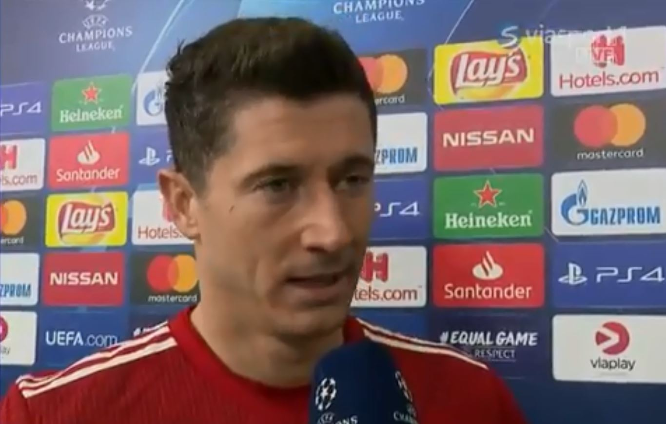Robert Lewandowski slams Bayern Munich's tactics after Champions League defeat to Liverpool