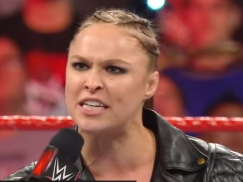 Ronda Rousey brands wrestling 'scripted and made up' as she says 'f*** 'em' to WWE Universe