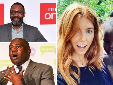 'Screw you white people': Sir Lenny Henry makes dig at MP David Lammy amid Comic Relief controversy