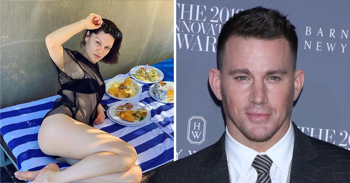 Channing Tatum wants the world to know Jessie J is 'the hottest food model' as 'romance' heats up