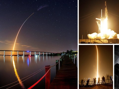 Elon Musk's SpaceX launches test flight to International Space Station