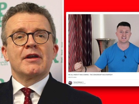 Labour's Tom Watson wants YouTube to ban Tommy Robinson as 'a matter of urgency'