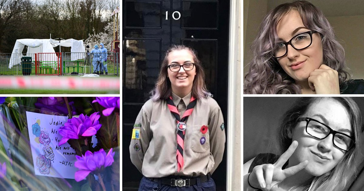 First pictures of girl, 17, stabbed to death in 'random park attack'