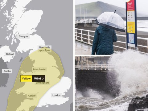 Storm Freya to smash into UK today with 80mph winds and 'danger to life' risk
