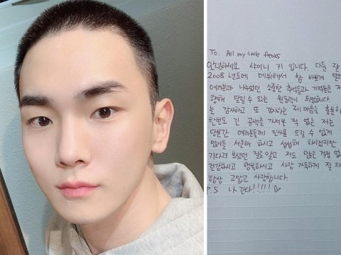 SHINee's Key enlists in the military to begin mandatory service: 'I will return in good health'