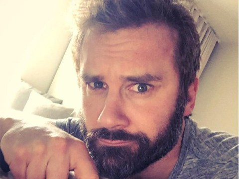 Vikings star Clive Standen prepares for new show in hotel room and it's one messy disaster