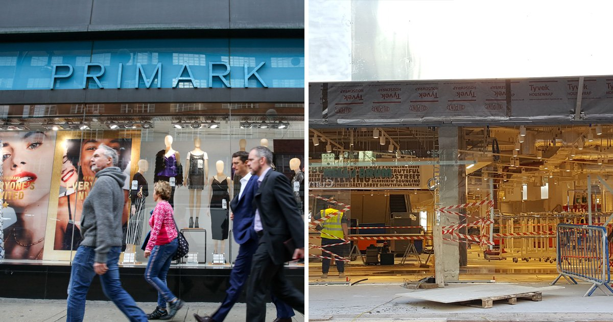 Primark is opening its biggest ever shop in just six weeks' time