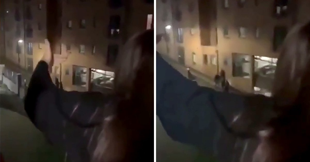 Fresher filmed screaming 'f**k off you don't belong here' at black students