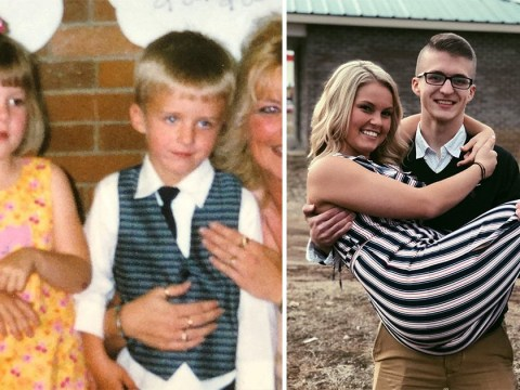 Preschool sweethearts reunited 16 years after they lost touch and now they're getting married