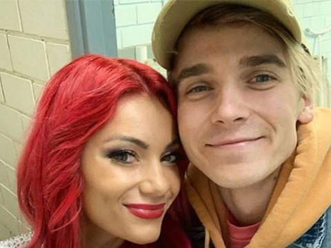 Strictly's Dianne Buswell's boyfriend Joe Sugg is her 'biggest fan'