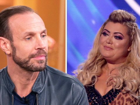 Jason Gardiner throws shade at Gemma Collins by comparing her to a refrigerator