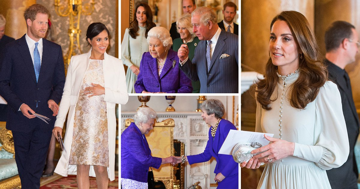 Meghan and Kate in rare public appearance together to honour their father-in-law