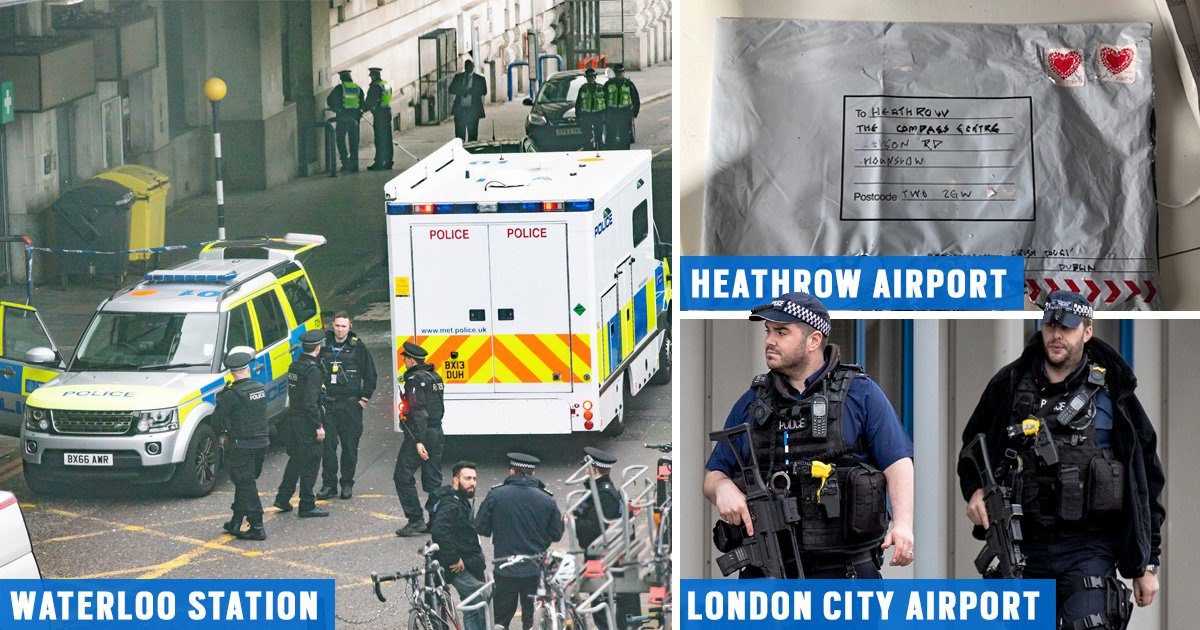 Commuters urged to be vigilant amid fear more suspicious packages could be on the way