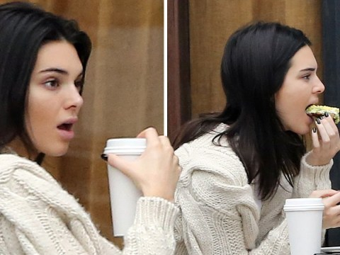 Kendall Jenner chomps down on lunch as she pushes Jordyn Woods drama aside to hang out with friends