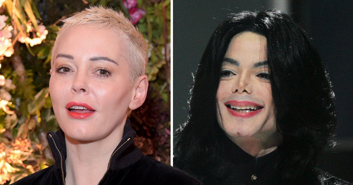 Rose McGowan stands with Michael Jackson sex abuse accusers: 'Sorry your hero was a bad man'