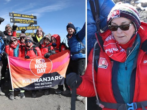 Shirley Ballas spoke to late brother and almost died during terrifying Comic Relief Kilimanjaro climb