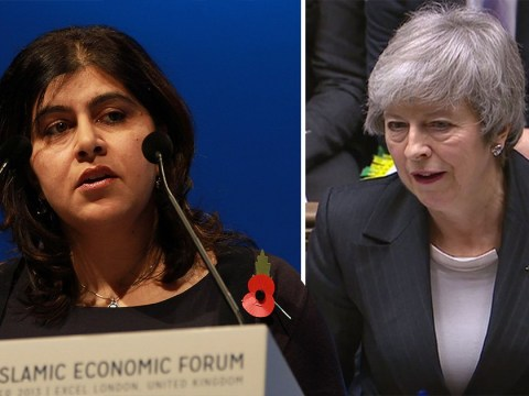 'Tory colleagues briefed to deny there's Islamophobia' says Sayeeda Warsi