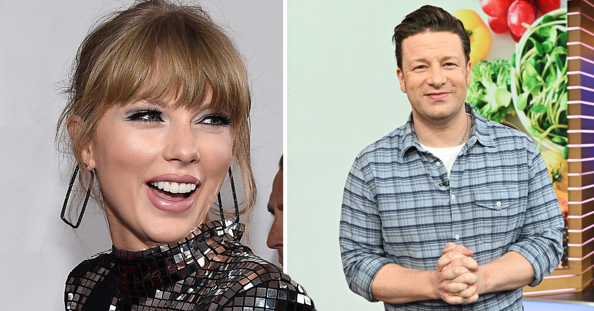 Turns out Taylor Swift is a huge fan of Jamie Oliver's chicken fajitas