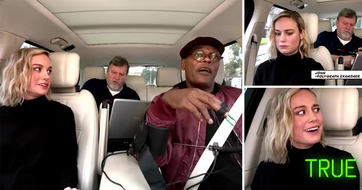 Samuel L Jackson admits he 'farted during Captain Marvel filming' as he's grilled by Brie Larson