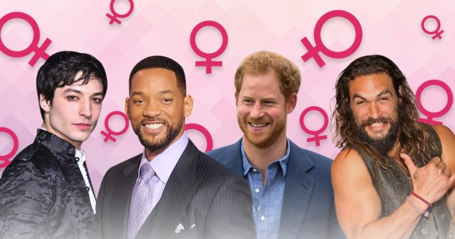 ezra miller, will smith, prince harry and jason momoa - all celebrity feminists