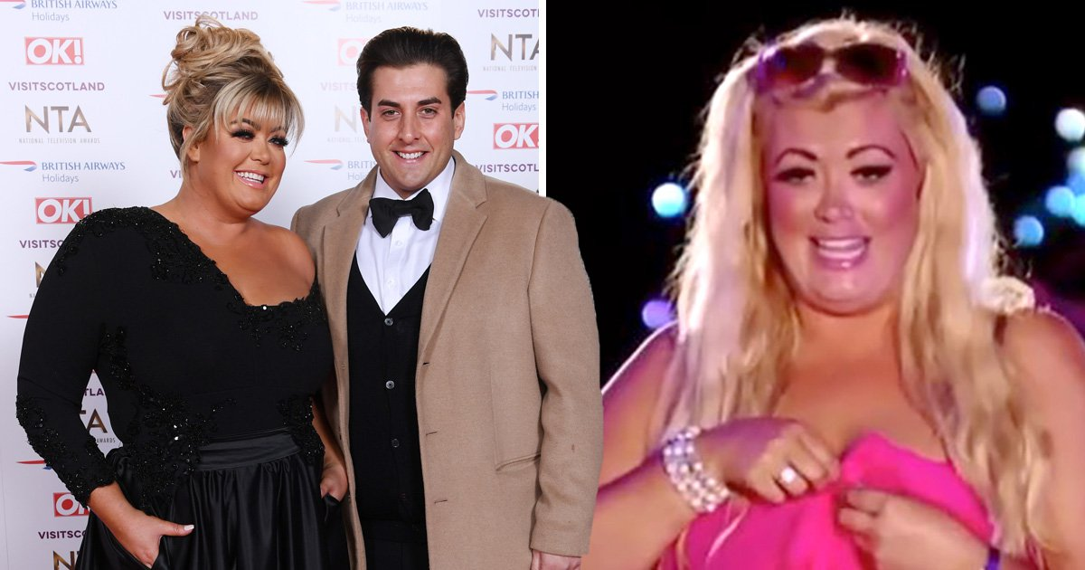 James Argent shares truly bizarre tribute to girlfriend Gemma Collins on International Women's Day
