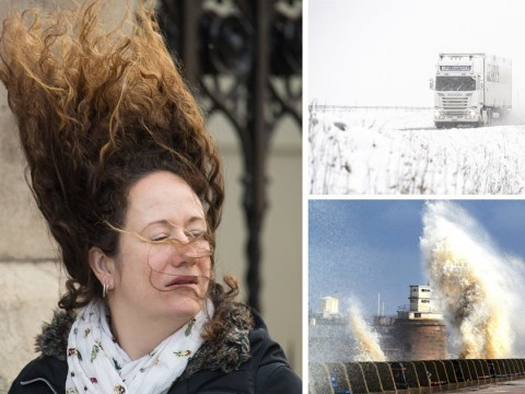 Snow, rain and heavy winds hit UK as winter makes its return this weekend