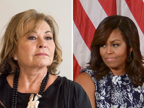 Roseanne Barr blames Michelle Obama for her series being axed and not her offensive tweets