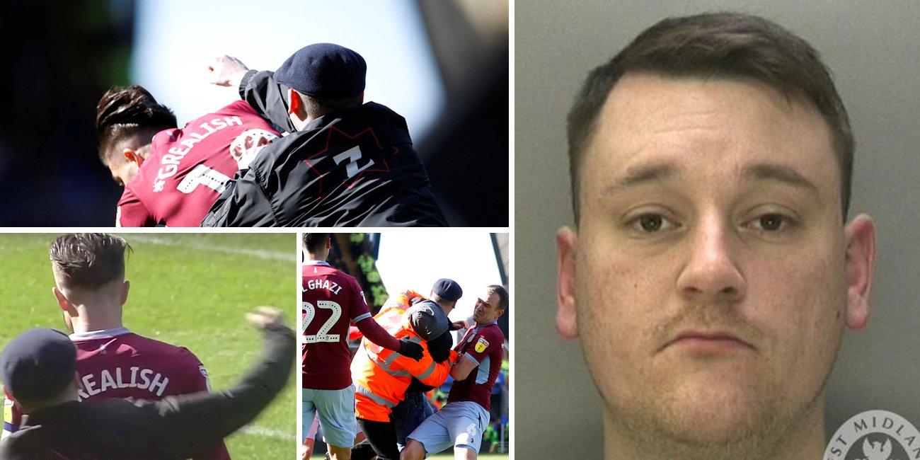 Birmingham fan jailed for punching Jack Grealish during Aston Villa match