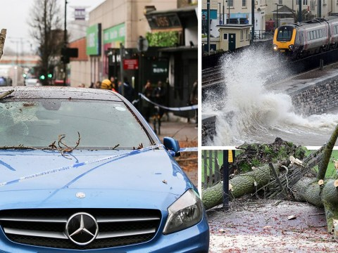 Storm Gareth smashes into Britain knocking out power for 2,000 homes